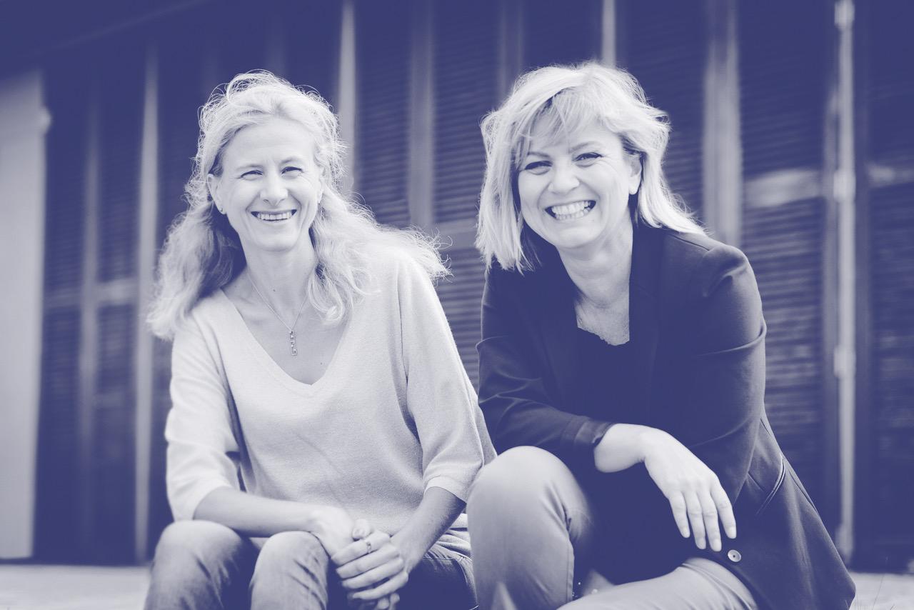 Cécile Martin et Ellen Bonenfant