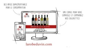 Site internet la robe du vin